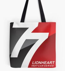 Lionheart Indycar Pillows and Stickers Tote Bag