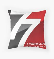 Lionheart Indycar Pillows and Stickers Throw Pillow