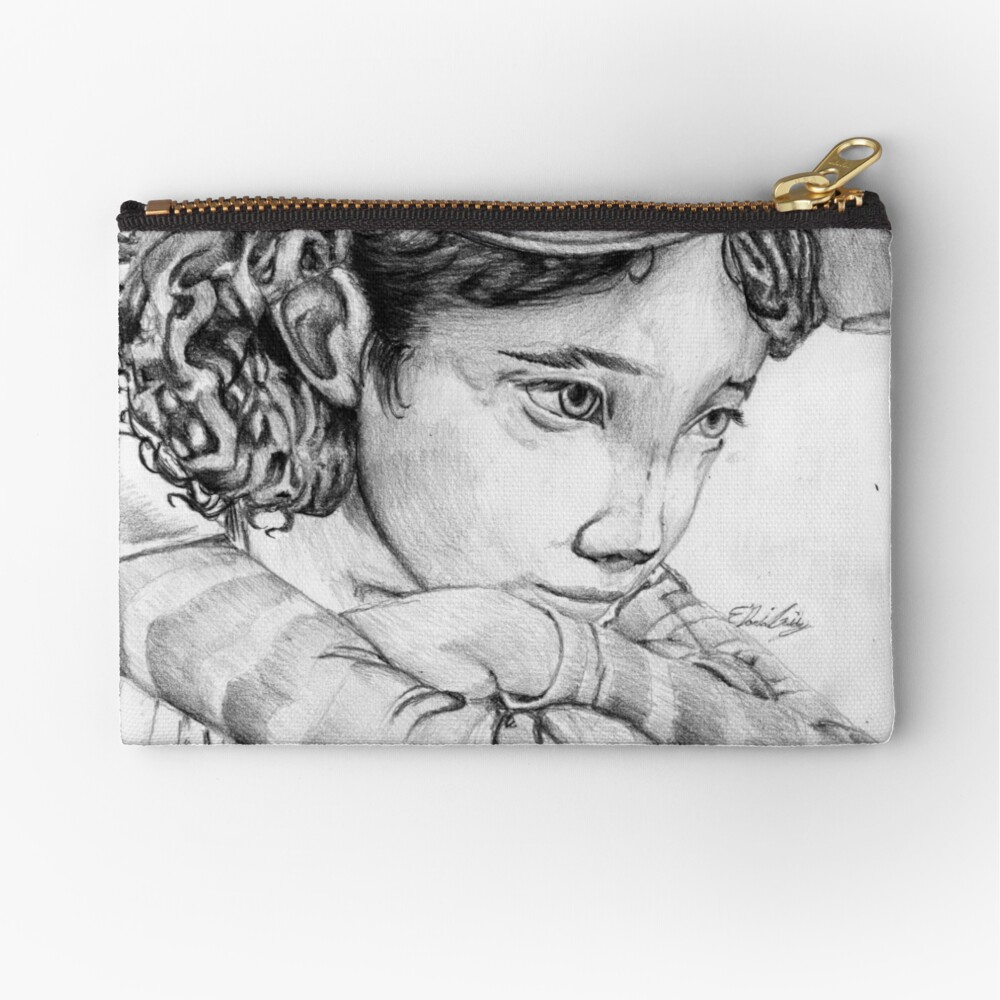 Clementine from The Walking Dead The Game Zipper Pouch