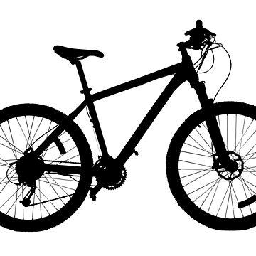 Mountain Bike, MTB, Mtn Bike by TOMSREDBUBBLE