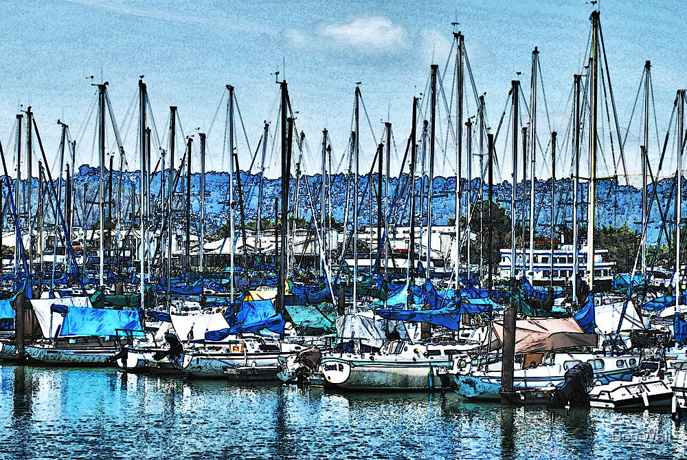 Berkeley Marina by Bob Wall