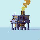 Gonzo Building by Slynyrd