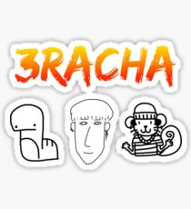 3RACHA Doodles (4 Stickers for 1 ;) Sticker