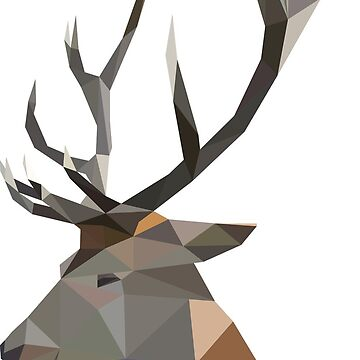 The Stag by atelierwilfried