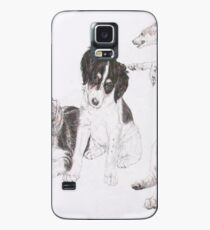 Saluki Growing Up  Case/Skin for Samsung Galaxy