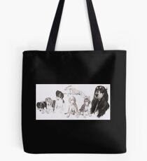 Saluki Growing Up  Tote Bag