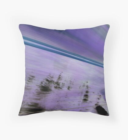 Zoom! Throw Pillow