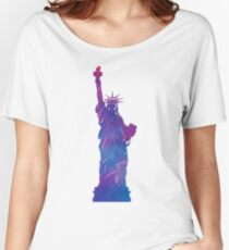statue of liberty Women's Relaxed Fit T-Shirt