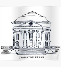 University of Virginia Rotunda Poster