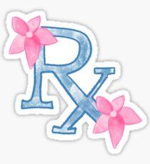 Rx (blue) Sticker