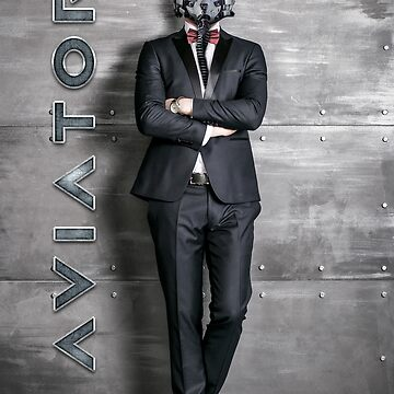 Aviator Fighter Pilot in Tuxedo by rott515