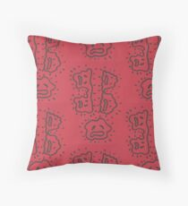 Abstract Fat Cell Drawing Floor Pillow