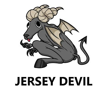 Little Cryptid Jersey Devil by exitStrat