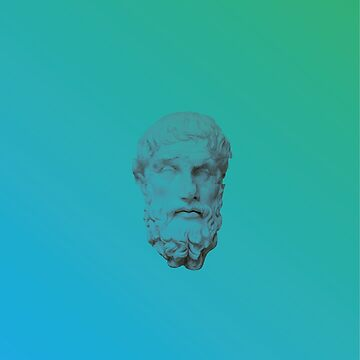 Vaporwave Glitched Greek Bust by gregGgggg