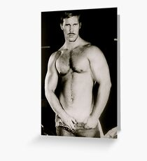 Butch Barnes torso Greeting Card