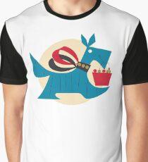 Vintage Scottie Dog Retro Scottish Terrier Puppy Aqua Turquoise & Red Graphic T-Shirt