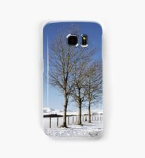 Snow Scene in Cumbria Samsung Galaxy Case/Skin