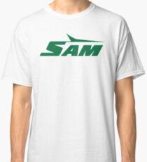76c5055ae Sam Jets Script 2 Classic T-Shirt