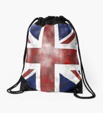 United Kingdom British flag Drawstring Bag