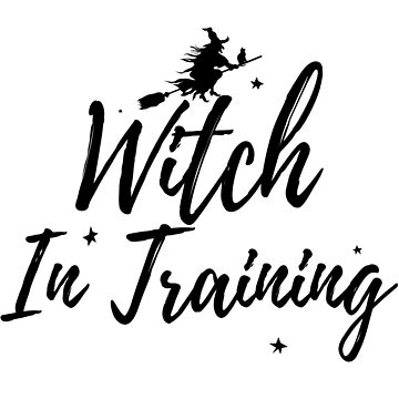 Halloween Witch Shirt - Witch In Training by Sleazoid