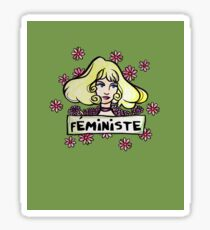 Féministe Sticker