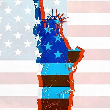 Freiheitsstatue / USA von MartaOlgaKlara