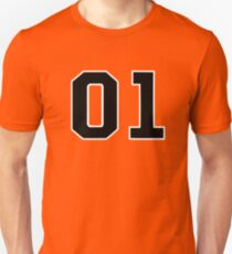 01 Binary - General Lee Font Unisex T-Shirt