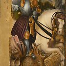 St George with Dragon by edsimoneit