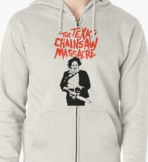 Texas Chainsaw Massacre Zipped Hoodie