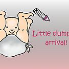 Diddle, diddle, dumpling baby card by patjila