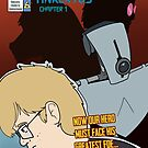Silverage Cover - Issue 6 - Tinkertoy Part I by inkstainsjacket