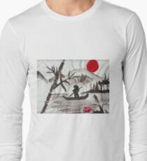 Red sun over Japan Long Sleeve T-Shirt