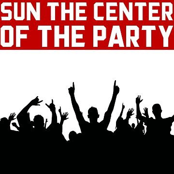 SUN THE CENTER OF THE PARTY by cleenalexer