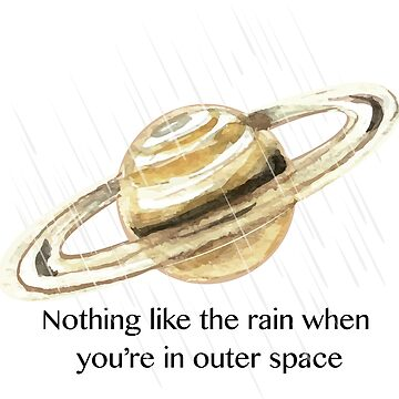 Nothing Like The Rain In Outer Space by NaurinDin
