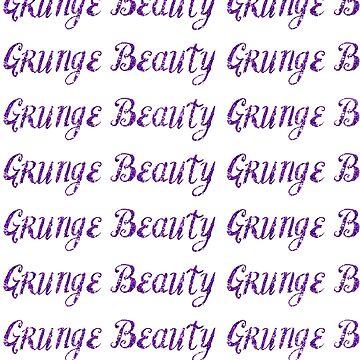 Grunge Beauty Glitter by Novalliez
