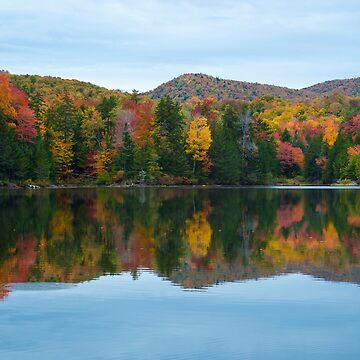 Autumn Color on Colton Pond, Vermont by srwdesign