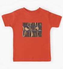 County Courthouse swirls justice in reflection Kids Tee