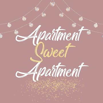 Apartment Sweet Apartment   String Lights by CollegeTown
