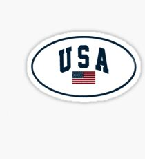 usa sticker Sticker