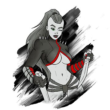 Katrina - sexy warrior girl by torzhinskiy