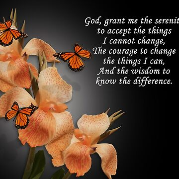 The Serenity Prayer by Irisangel