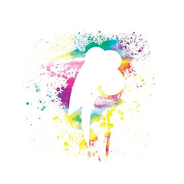 My Little Pony - Colorful Abstract Rainbow Dash Spray Splatter Vol. 2 by Obtineo