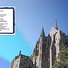 Mont-St-Michel - France - Whence Envy - Poem by Kenneth S Lapham