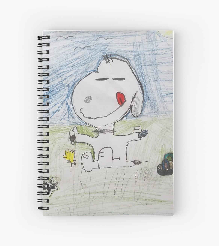 Happy Snoopy  by SaliAnnCreate