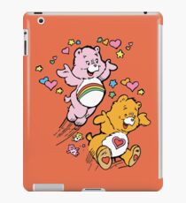 Tenderheart and Cheer Bear Vintage Retro 80s 1980s iPad Case/Skin