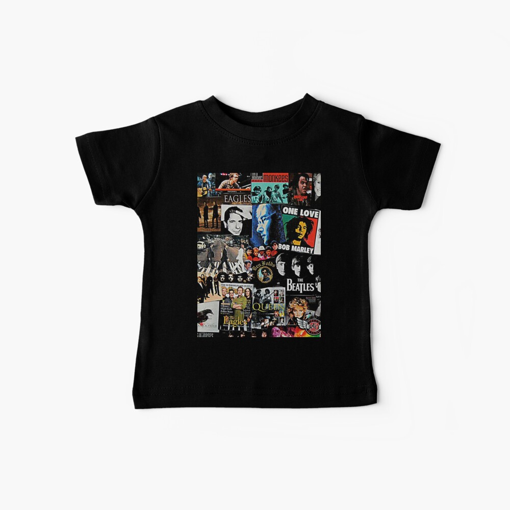 Rock Collage Baby T-Shirt
