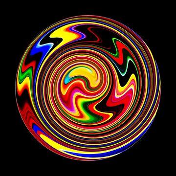 Happy Spiral Of Colors by SpieklyArt