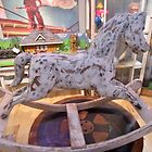 Antique Wooden Rocking Horse circa 1900's by Shulie1