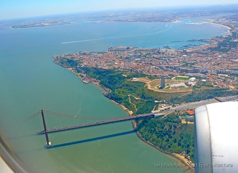 flight over Lisbon...3 by terezadelpilar ~ art & architecture
