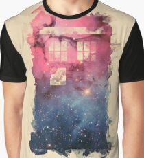 Tardis Smoke Universe Graphic T-Shirt